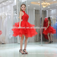 Charming Women Short Royal red Wedding Dress 2016 Evening