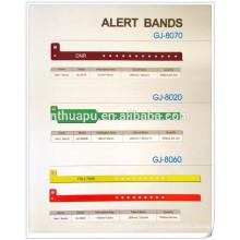 больница одноразовые идентификационные ленты полосы оповещения ИД группы