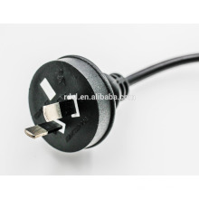 Cable del cable de alimentación de 10A 250V CA 220v para au 2 pin