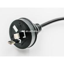Câble de cordon d'alimentation 10A 250V AC 220V pour au 2 broches