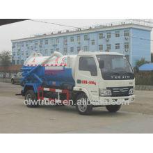 IVECO 4x2 camión de succión, 3-3.5cbm camiones de succión de aguas residuales