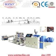 Machine d'expulsion de feuille de panneau décoratif libre de mousse de PVC