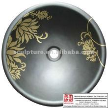 Античная имитация латуни / металлическая раковина для гостиницы и дома