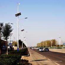 50W outre du réverbère économiseur d'énergie solaire du vent LED de grille