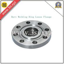 Brida suelta del anillo de soldadura a tope de acero inoxidable (YZF-M020)