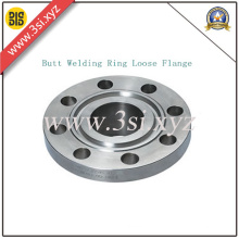 Stainless Steel Butt Welding Ring Loose Flange (YZF-M020)