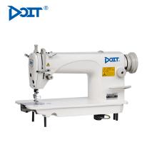 DT 8900 Alta velocidade única agulha flatbed rendado vestido industrial máquina de costura