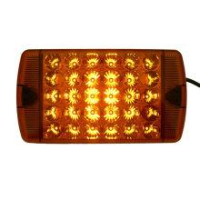 Lampe témoin rectangulaire Ambre avec 30 SMD