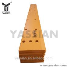 2017 YASSIAN recambios de acero biselado borde de corte 7V0904 para bulldozer