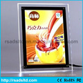 2016 Best Popular Acrylic Ultra Slim Crystal Light Box
