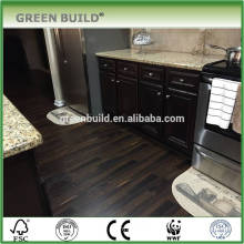 Black handscraped surface laminate wooden flooring