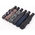 Automatic anti wind Folding Umbrella Women 8 Ribs