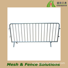 Galvanized Pedestrian Events Crowd Control Barriers (CCB-L-07)