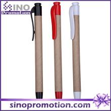 Eco-Friend und Plastik klicken Kugelschreiber