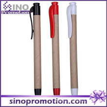 Amigo ecológico e caneta esferográfica de plástico