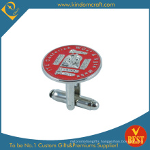 Custom Cheap Alloy Cufflinks for Sale (JN-0164)