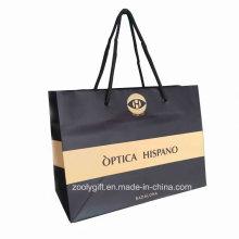 Impression de logo personnalisé Shopping Bag Bag / Sac de papier publicitaire promotionnel