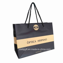 Customized Logo Printing Shopping Paper Bag / Promotional Carrier Paper Bag