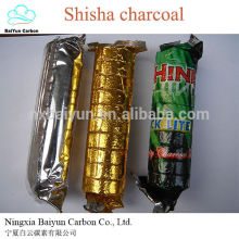 33mm Shisha Charcoal High Quality Natural Wood Hookah Shisha Charcoal