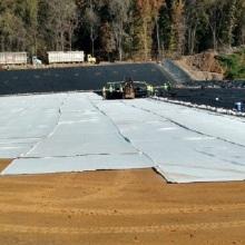 Comprimento do rolo aprovado pela CE 100 m geotêxtil tecido geotêxtil