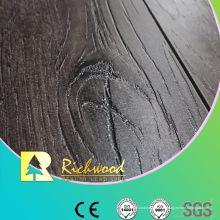 Revestimento de madeira laminado profundo gravado HDF do carvalho do registro 12mm