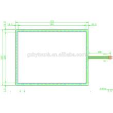 Panneau tactile réactive à 5 fils personnalisé pour machine POS AMT