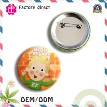 Значок кнопки значка кнопки фабрики высокого качества пластичный
