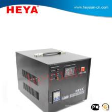 Regulador de voltaje 220v o 110v de la alta precisión del motor servo de 3kva para la bomba de agua