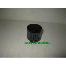 Schwarzer Motorrad-Luftfilter 9/12 / 15mm Kundenspezifischer Filter
