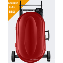 Acampamento Use Portable Folding Gas Churrasco Grill Set