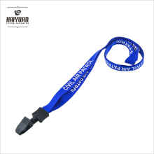 Eco-Friendly Günstige Silk Screen Printing Polyester Lanyard für Business