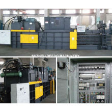 Volle automatische hydraulische Haustier-Flaschen-horizontale Ballenpresse-Maschine