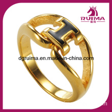 Fashion Jewelry Lord of The Rings Tungsten Ring, Gold Plated Lord of The Rings Jewelry (SR286)