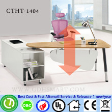 manual screw height adjustable table corner desk counter tops manufacturers