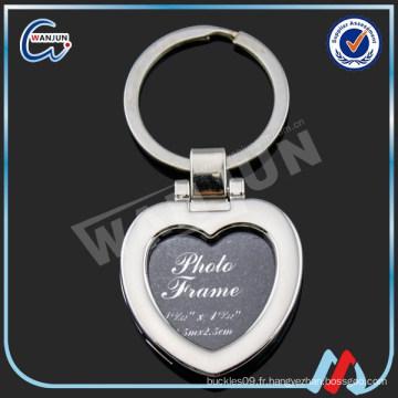 Porte-clés en forme de coeur
