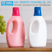 QB-LQ500 boa qualidade cor personalizável grande bocal matt terminar garrafa plástico PEAD rígido 500ml