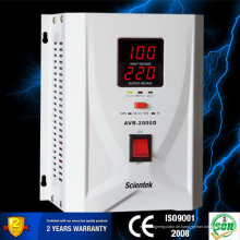 Neue Technologie LED-Anzeige 1000VA 600W Regulator Stabilizer AVR