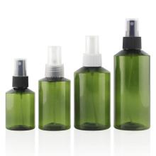 Bouteille en plastique vert en gros d'usine pour le parfum (PB12)