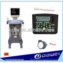 dispositivo de varredura do ultra-som do trole para o abdômen, tiróide, fígado, rim, baço, bexiga