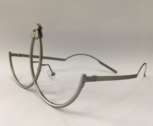 Liquid Metal Eyewear frame