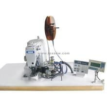 Máquina de coser de cinta de velcro de alimentación automática