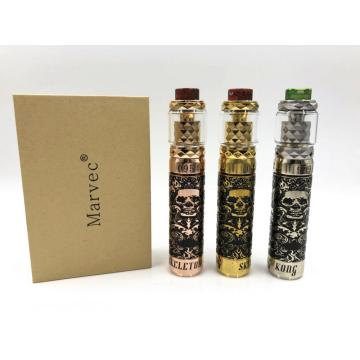 Kit E Cigarette Vape Skeleton King Kong Mod