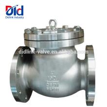 Углеродистая нержавеющая сталь Ansi Parker 3-дюймовый поворотный запорный клапан Тип и применение обратного клапана