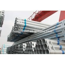 Especificación de tuberías de acero galvanizado Q195 de ERW