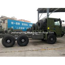Camión HOWO de transporte de carga 6X6 Awd Sinotruk 290HP