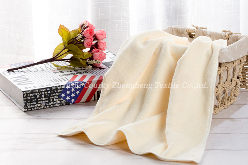 Weft Knitting Microfiber Towel-010