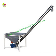 LS20 spiral hopper screw conveyor with safety net