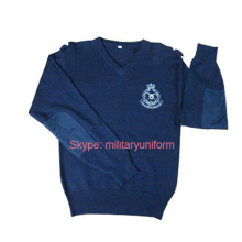 Military Pullover with Camouflage Color