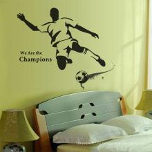 Рекламные различные прочные декоративные виниловые съемные стикеры стены искусства
