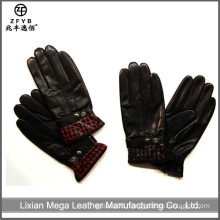 ZF5661 wholesale winter man fashion newest leather gloves